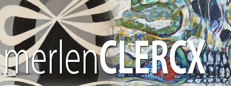 Merlen Clercx - Painting Retrospective in November 2015 at the Hallberg Center for the Arts