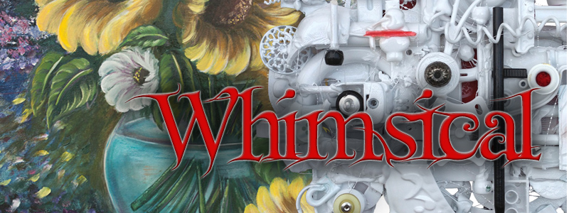 Whimsical - a color art exhibit by Joy Tate and Erik Ritter