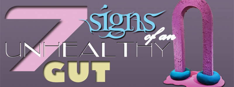7 Signs of an Unhealthy Gut - a solo exhibit by Allison Baker at the Hallberg Center for the Arts