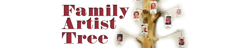 Freemore Family Artist Tree Art Exhibit